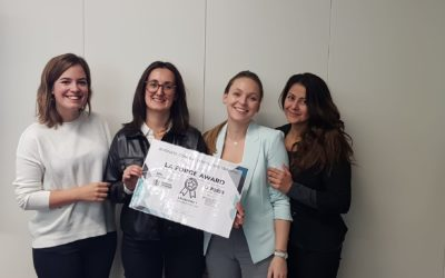InnoSuisse Business concept training ending with La Forge Incubator Award